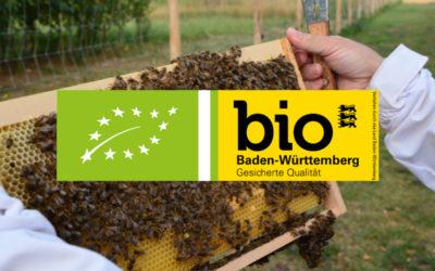 Bio-Imkerei direkt bei uns auf dem Hof