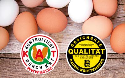 Hof-Eier vom Bauernhof Kurz